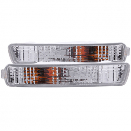 ANZO 1994-1995 Honda Accord Euro Parking Lights Chrome 511008