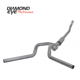 Diamond Eye KIT 4in TB DUAL AL: 94-02 DODGE CUMMINS 5.9L K4214A