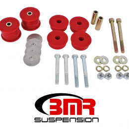 BMR 15-17 S550 Mustang Differential Bushing Kit (Polyurethane) - Red BK049