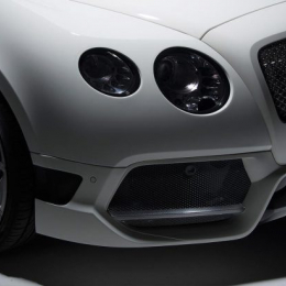 Vorsteiner Bently Continental GT BR-10RS Aero Front Bumper Front Spoiler Carbon Fiber PP 2x2 Glossy 1800BOV