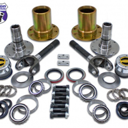 Yukon Gear Spin Free Locking Hub Conv Kit For Dana 30 & Dana 44 TJ / XJ / YJ / 27 Spline / 5 X 4.5in YA WU-07