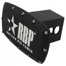 RBP Hitch Cover Black Label (For 2in. Hitch Receivers Only) RBP-111