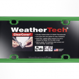 WeatherTech ClearCover - Kelly Green 8ALPCC11