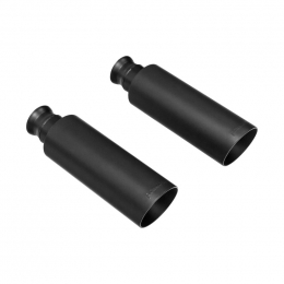 Flowmaster Exhaust Tip 09-17 Dodge Ram 1500 Direct-Fit Exhaust Tips (Pair) Black Finish 4in 15356B