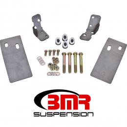 BMR 79-04 Fox Mustang Plate Style Torque Box Reinforcement Plates Upper Only - Natural TBR002