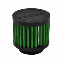 Green Filter Crankcase Filter - ID 1.5in. / Base 3in. / Top 3in. / H 2.5in. 2126