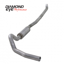 Diamond Eye KIT 4in TB SGL OFF-RD AL: 01-07.5 CHEVY/GMC 6.6L 2500/3500 NFS W/ CARB EQUIV STDS K4114A