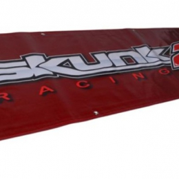 Skunk2 5 FT. Vinyl Shop Banner (Red) 836-99-1441