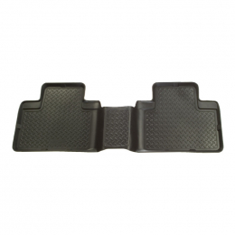 Husky Liners 08-12 Toyota Sequoia Classic Style 2nd Row Black Floor Liners (One Piece Unit) 65571