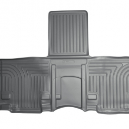Husky Liners 11-12 Toyota Sienna WeatherBeater 2nd Row Gray Floor Liners 19842