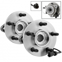 xTune Wheel Bearing and Hub 4WD ABS Ford Explorer 95-01 - Front Left and Right BH-515051-51 9939174