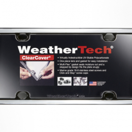 WeatherTech ClearCover Frame Kit - Chrome 60023