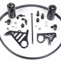 Radium Engineering 2013+ Ford Focus ST Dual Catch Can Kit 20-0358
