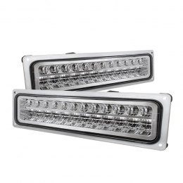 Xtune Chevy C10 88-98 LED Bumper Lights Chrome CPL-CCK94-LED-C 5017352