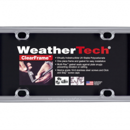 WeatherTech Stainless Steel Universal License Plate Frame 8ALPSS1