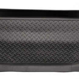 Husky Liners 11-13 Ford F-250/F-350 Crew Cab Classic Style 2nd Row Black Floor Liners 63831