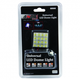 ANZO LED Dome Light Universal LED Dome Light - 16 High Powered LED Universal 1.25in x 1.25in 809046