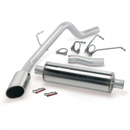 Banks Power 04-05 Dodge 5.7 Hemi1500 CCSB Monster Exhaust System - SS Single Exhaust w/ Chrome Tip 48566
