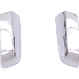 AVS 14-18 Chevy Silverado 1500 Upper Mirror Covers 2pc - Chrome 687686