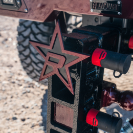 RBP Hitch Cover Red Star (For 2in. Hitch Receivers Only) RBP-7505R
