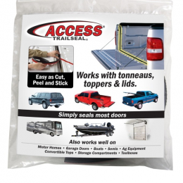 Access Accessories TRAILSEAL Tailgate Gasket 1 Kit Fits All Pickups 30946