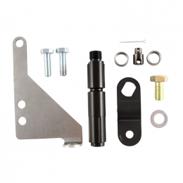 B&M Bracket and lever kit 4R70W Automatic Transmission 40504