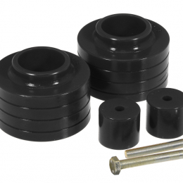 Prothane Jeep TJ 1.5-2in Lift Coil Spring Isolator - Black 1-1703-BL
