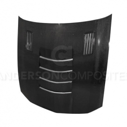 Anderson Composites 05-09 Ford Mustang Type SS11 Carbon Fiber Hood AC-HD0506FDMU-SSII