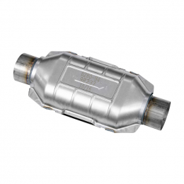 Flowmaster Universal Pre-OBDII Catalytic Converter SS - 3.0in. In/Out 16.5in. Length 98237