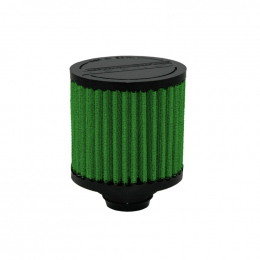 Green Filter Breather Inlet (Push-in Cylinder) w/o SS Deflector Shield - OD 1.25in. / H 2.5in. 2027