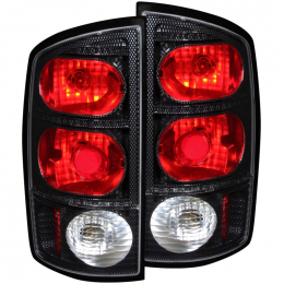 ANZO 2002-2005 Dodge Ram 1500 Taillights Carbon 211044