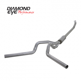 Diamond Eye KIT 4in TB DUAL AL: 03-04.5 DODGE CUMMINS 5.9L NFS W/ CARB EQUIV STDS K4220A