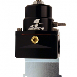 Aeromotive Adjustable EFI Regulator (2) -10 Inlet/-6 Return - Black 13128