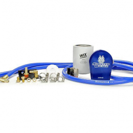 Sinister Diesel 08-10 Ford 6.4L Powerstroke Coolant Filtration System w/ Wix Filter SD-COOLFIL-6.4-W
