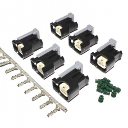 FAST Injector Conn.Kit-USCAR (6-Pack) 170600-6