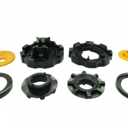 Whiteline 12+ Scion FR-S/Subaru BRZ Rear Diff-Mount in Cradle & Support Outrigger Insert Bushing KDT925