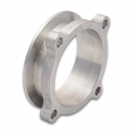 Vibrant 4 Bolt Flange 3in Round to 3in V-Band Transition 11739S