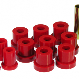 Prothane 88-91 Chevy Blazer/Suburban 4wd Front Spring Eye Bushings - Red 7-1013