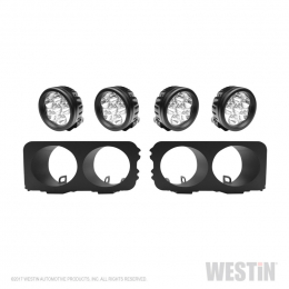 Westin Universal Light Kit for Outlaw Front Bumper - Textured Black 58-9905