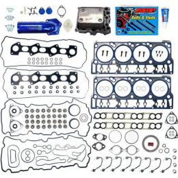 Sinister Diesel 08-10 Ford Powerstroke 6.4L Complete Solution Kit w/EGR Delete and Intake Elbow SD-CS-6.4-EGRD-IE