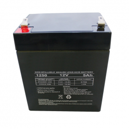 Westin Replacement 5 AMP Battery - Black 65-75023
