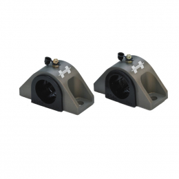 Hotchkis Style B 7/8in Heavy Duty Billet Sway Bar Bushing Brackets (Sold as a Pair) 23290875