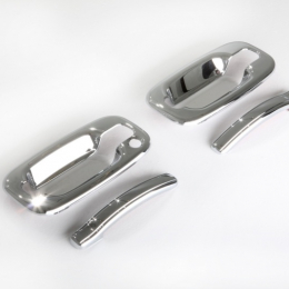 AVS 99-06 Chevy Tahoe (w/o Passenger Keyhole) Door Handle Covers (4 Door) 8pc Set - Chrome 685206