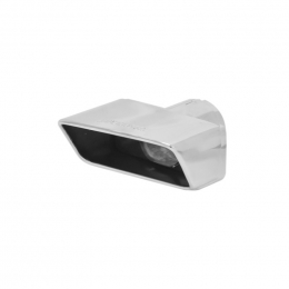 Flowmaster Exhaust Tip - 3.00 X 7.00 In. Rectangle Polished Ss Challenger (Clamp On) 15393