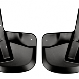 Husky Liners 07-12 Ford Expedition EL Custom-Molded Front Mud Guards (w/o Power Running Boards) 56651