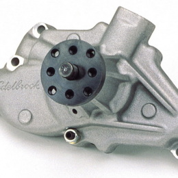 Edelbrock Water Pump High Performance Chevrolet 350 CI V8 Short Style Satin Finish 8810