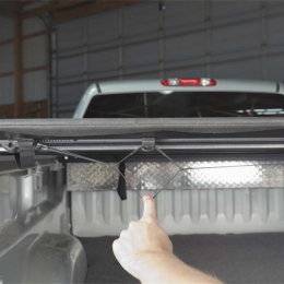 Access Lorado 04-15 Titan King Cab 6ft 7in Bed (Clamps On w/ or w/o Utili-Track) Roll-Up Cover 43169