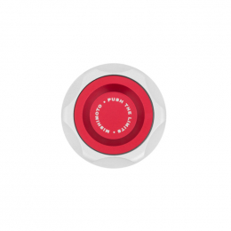 Mishimoto 87-01 Ford Mustang Oil FIller Cap - Red MMOFC-MUS1-RD