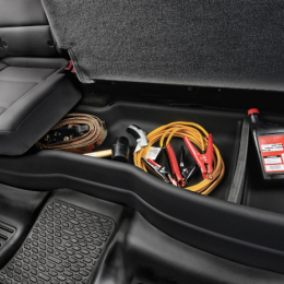 Husky Liners 14-17 Toyota Tundra Double Cab Under Seat Storage Box (w/o Factory Subwoofer) 09511