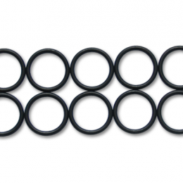 Vibrant -4AN Rubber O-Rings - Pack of 10 20884